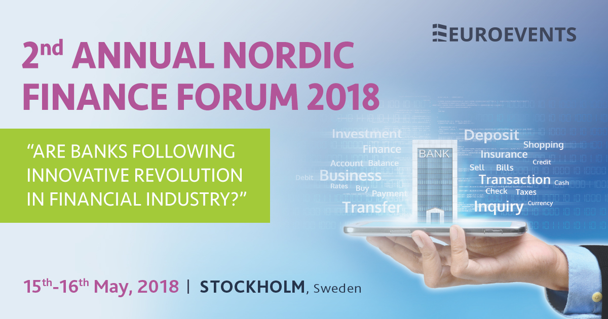 SEAVUS SPONSRAR THE NORDIC FINANCE FORUM 15–16 MAJ