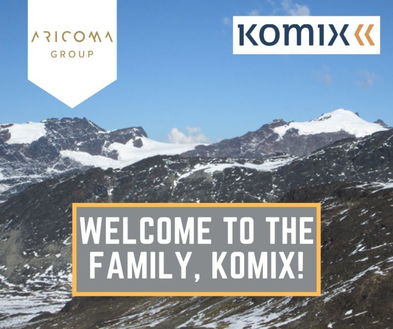 ARICOMA Group acquires the IT company KOMIX